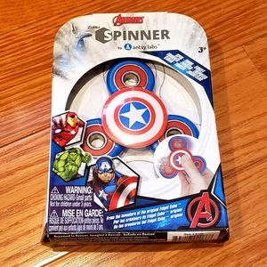 3 for $25 ❤ - Captain America - Zuru Spinner -